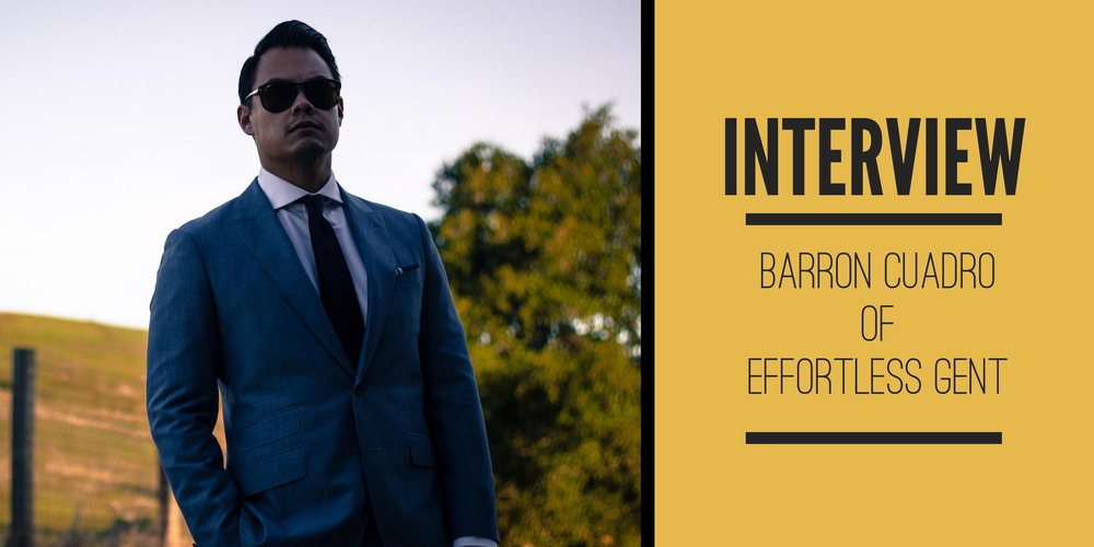 cdf42b4c33c Barron Cuadro of  Effortless Gent   A Conversation with The Peak Lapel