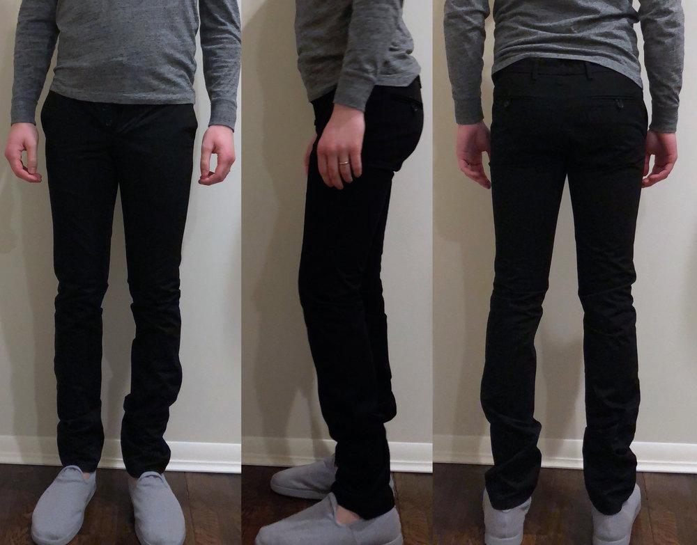 UNIS Gio skinny fit (slippers by Allbirds)