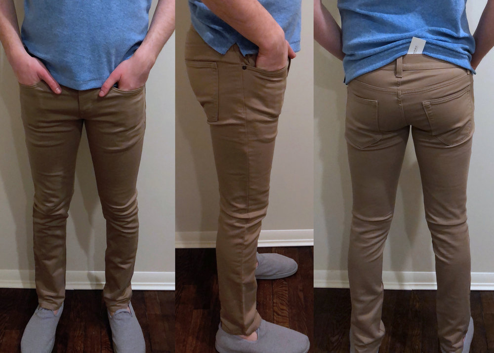 Skinny fit — Clearly too tight