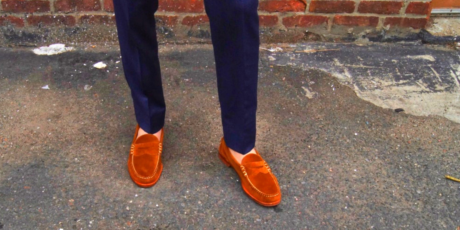 """2b93bed57f1 The Perfect Summer Penny Loafer   A Review Of The Allen Edmonds """"Sea Island"""