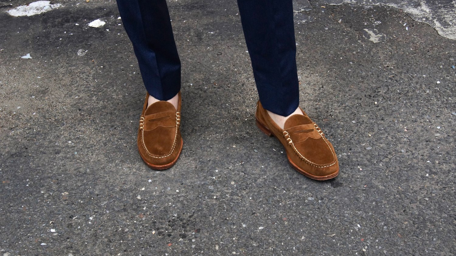 """8da4cf900ca The Perfect Summer Penny Loafer   A Review Of The Allen Edmonds """"Sea ..."""