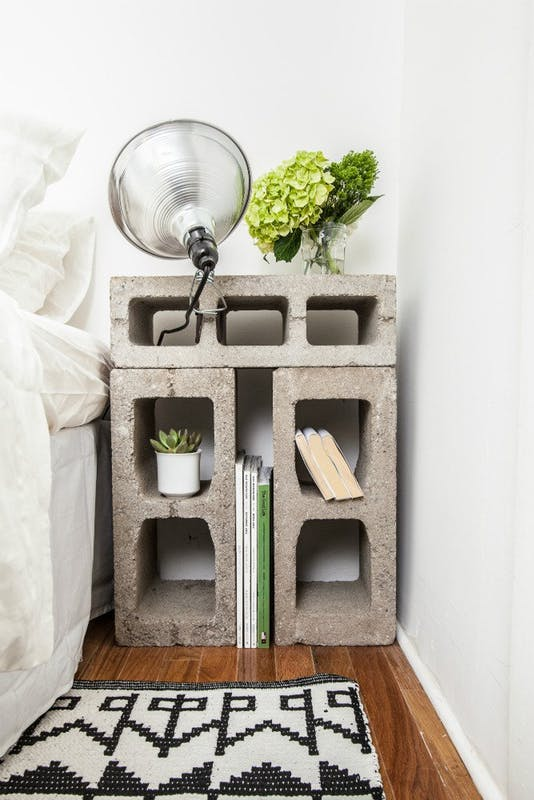 2. As a  bedside table