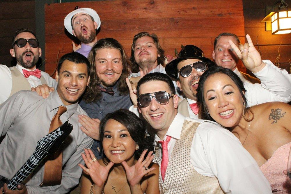 Wedding of Gerlie & Tomer | Redwood Backdrop