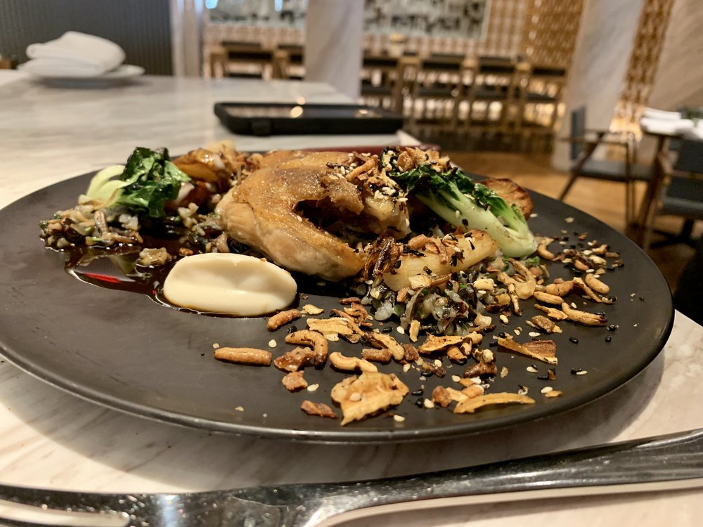 Duck Confit at Intersect by Lexus