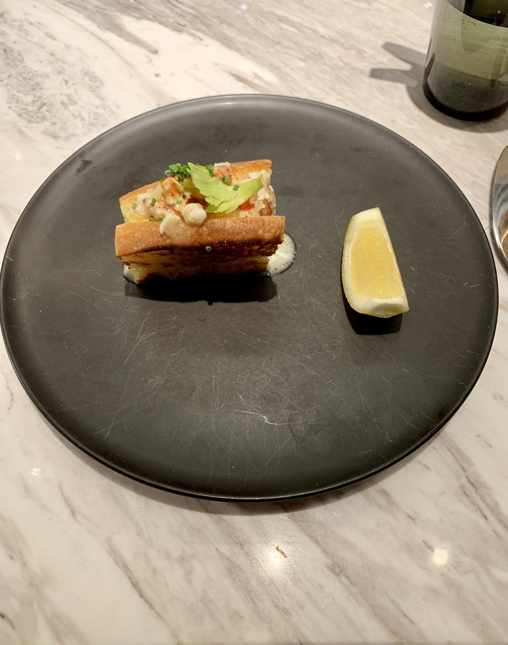 Lobster Roll at Intersect by Lexus