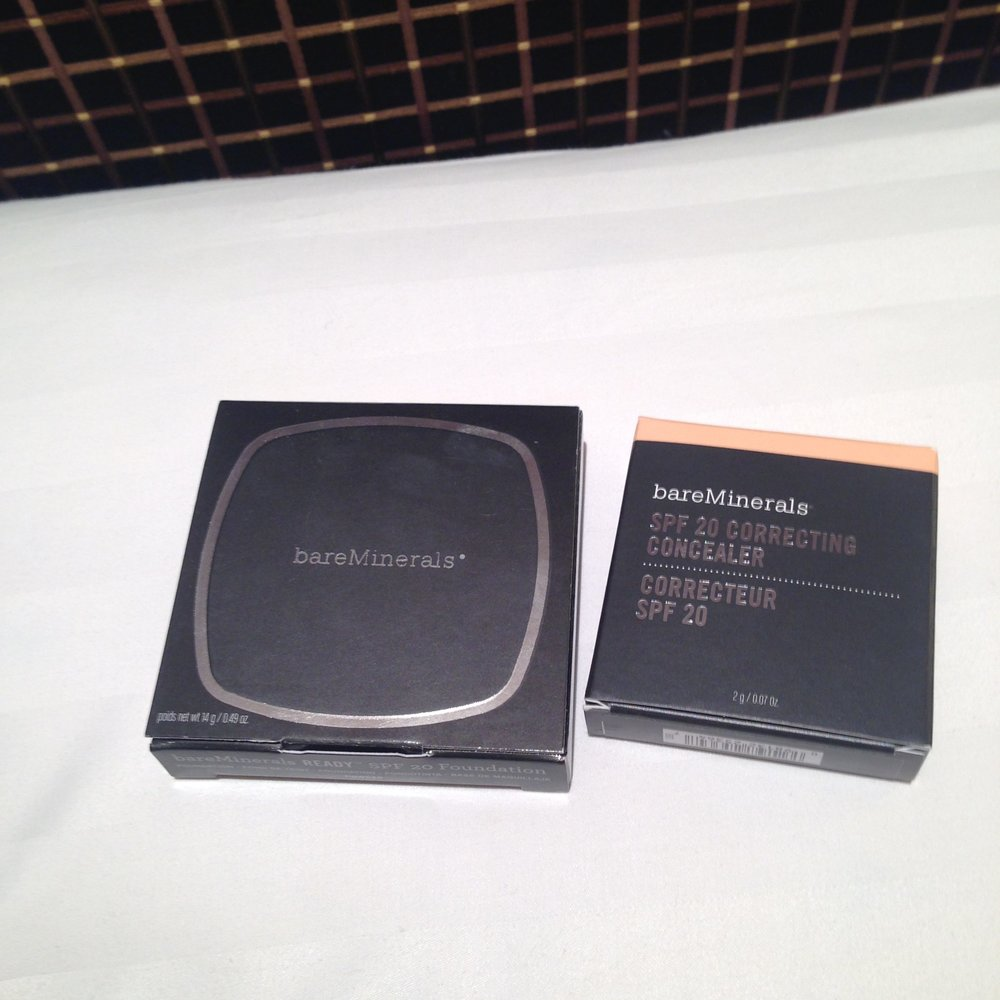 Finally! bareMinerals. Mine. All mine.