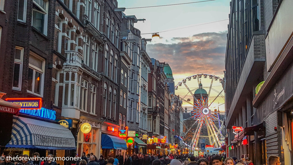 Festivities around the Dam Square