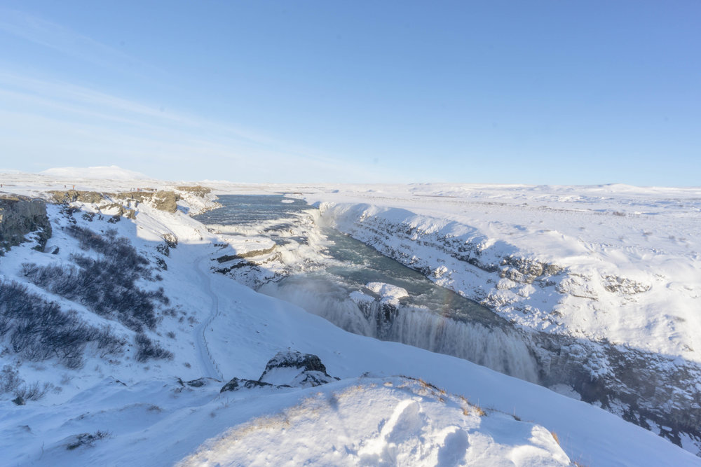 The mighty Gulfoss