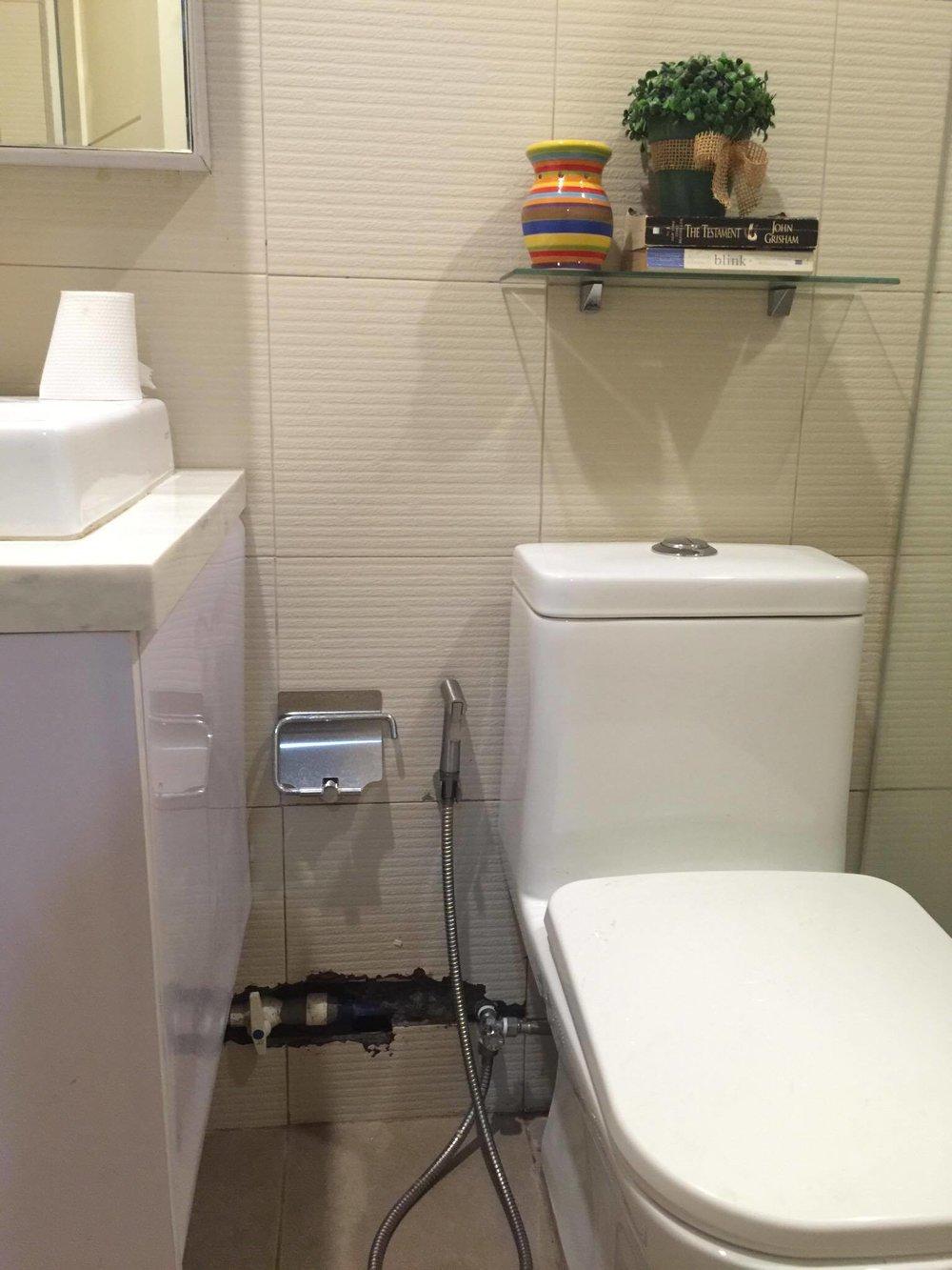 Leaky plumbing