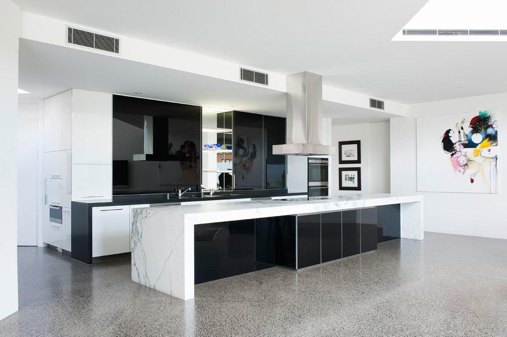 Rina Cohen Interiors, RCI Designs, Interior Design Black & White Award Kitchen