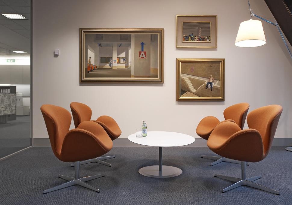 Rina Cohen Interiors, RCI Designs, Interior Design, Casual Meeting CBD Offices