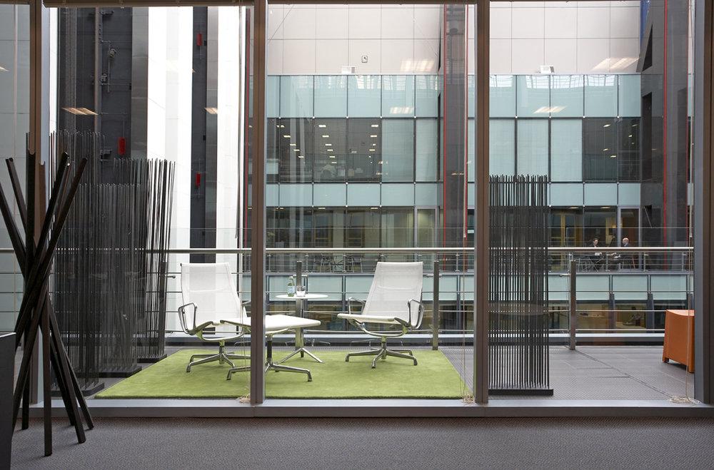 Rina Cohen Interiors, RCI Designs, Interior Design,RCI Designs Workstation view CBD Offices,Quiet space