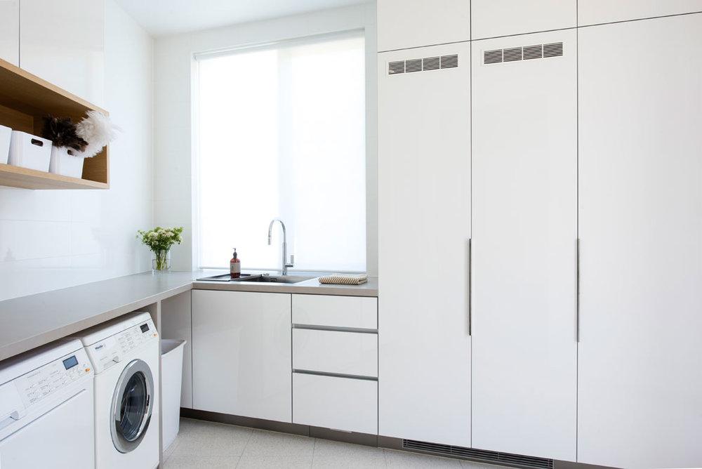 Rina Cohen Interiors, RCI Designs, Interior Design,Laundry St Kilda,