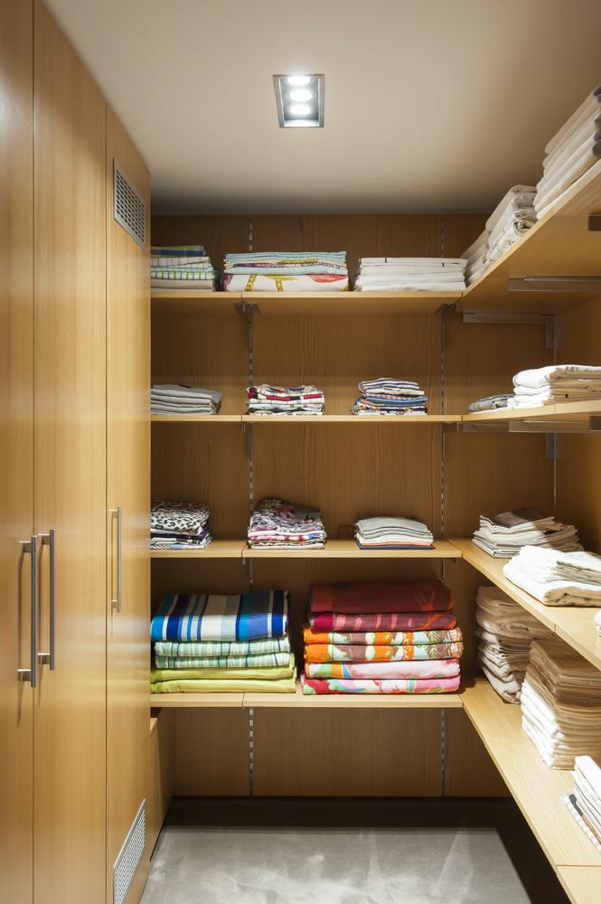 Rina Cohen Interiors, RCI Designs, Interior Design, walk in linen storage