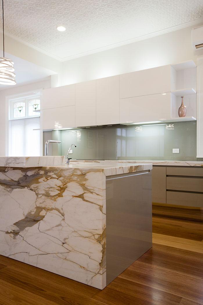 Rina Cohen Interiors, RCI Designs, Interior Design, RCI Designs marble Island Kitchen