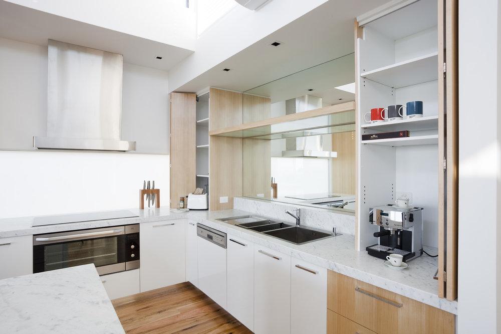 Rina Cohen Interiors, RCI Designs, Interior Design, Award Winning Kitchen, Appliance cupboards