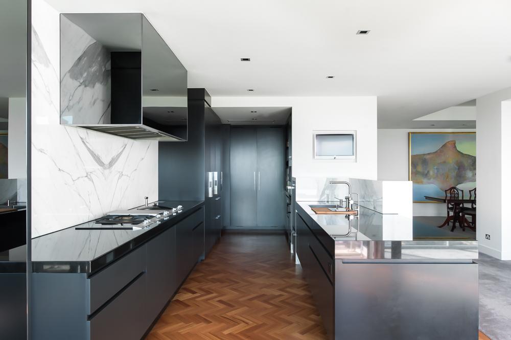Rina Cohen Interiors, RCI Designs, Interior Design Award Winning Kitchen,Marble and Granite,Galley Kitchen