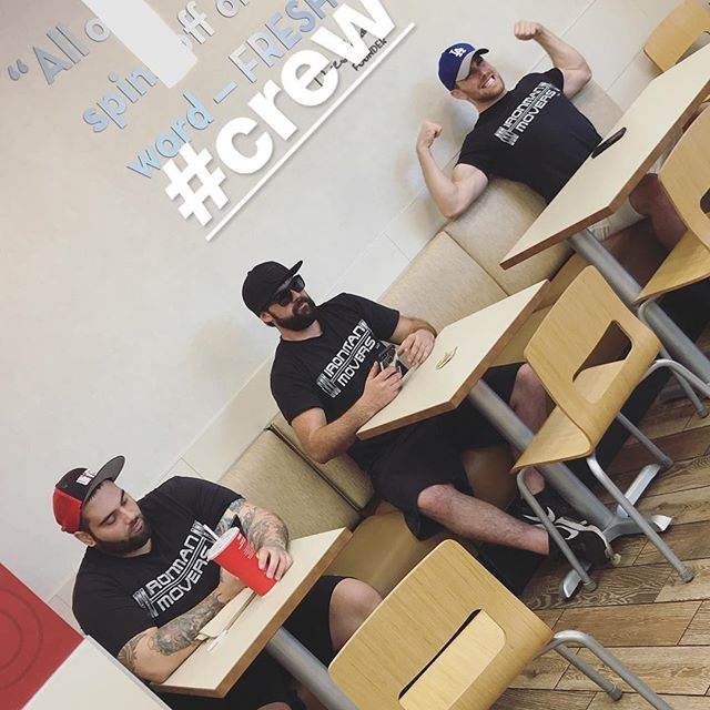 Lunch time 🍔 You know how we do • • • • • • • • • • • • • • • • • • • • • • • • • • • • • • • #movers #pnw #movers #bestmovers #buffmovers #moving #malemodel #oregon #portland #portlandia #pdx #pnw #lakeoswego #tigard #beaverton #hillsboro #tualitin #superheroes #muscles #marvel #dc #fitspo #bodybuilding #fitness#wecanmovemountains #wecanmoveyourlife #ironman #musclemen #buffguys #fitguys