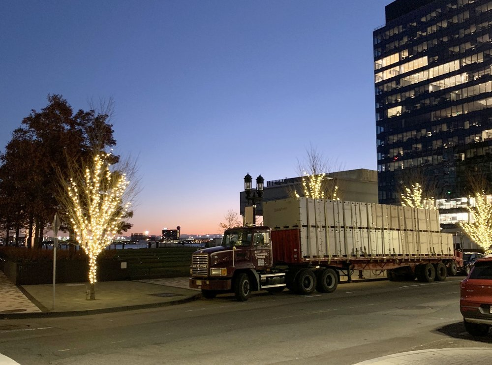 "Santa has just delivered ""gifts"" to Boston   Perhaps your site is next?"