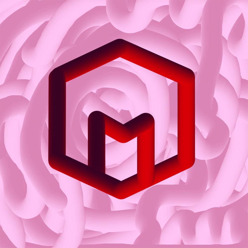 matt vinas stylized logo.