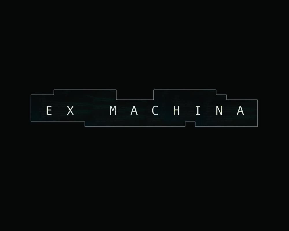 'ex machina' title treatment redesign.