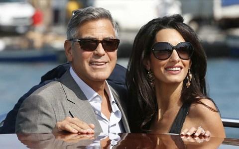 Georges Clooney & Amal Alamuddin - DETAILS
