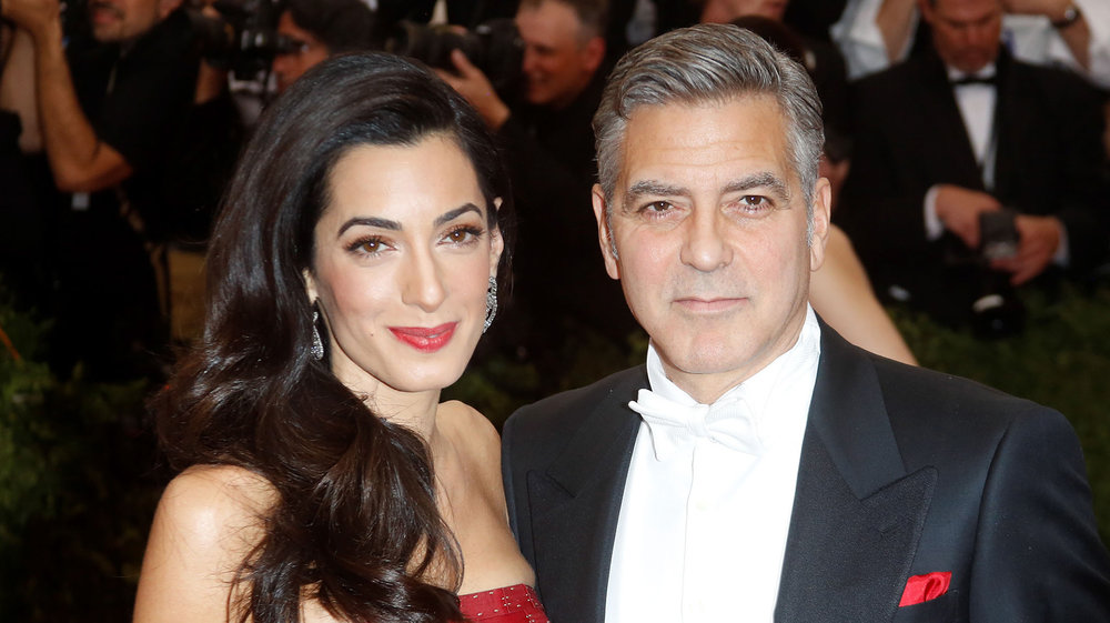 Georges Clooney & Amal Alamuddin  - Hotel Cipriani, Venice