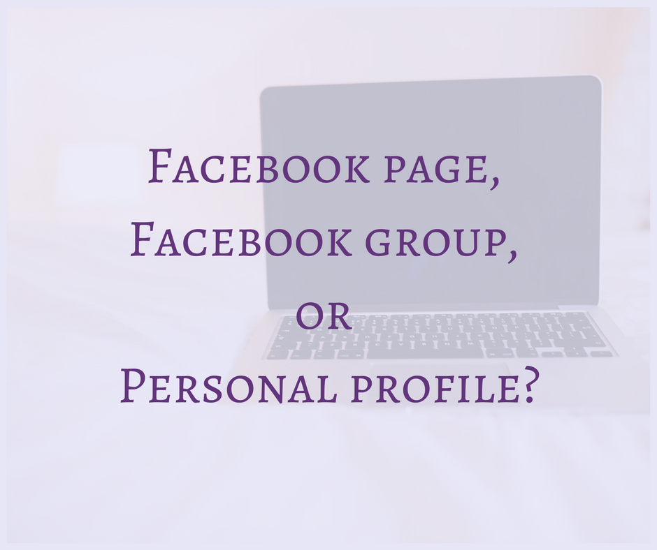 Should you create a Facebook business page, a Facebook group or can you just keep your personal profile for your business or project? One violates Facebook policy, the other two both have some pros and cons. Read more on Blogging Apprentice!