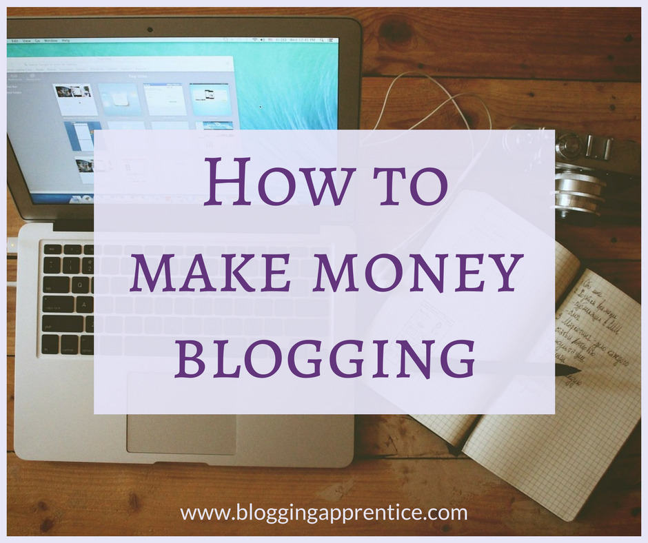 How can you make money from a blog? There are different options - and all of these can be used even if you're just starting out. Read more on BloggingApprentice.com!