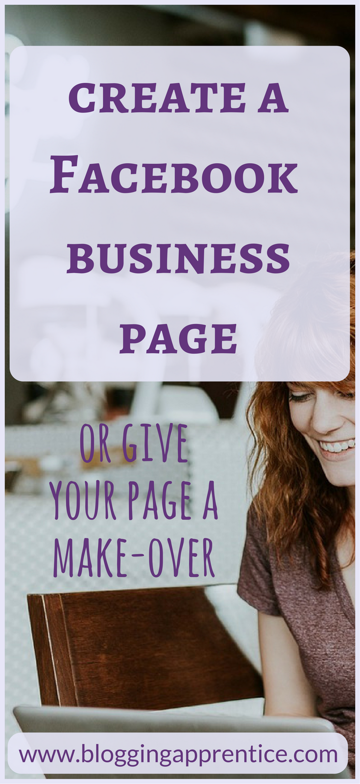 Create a Facebook business page - free webinar at www.bloggingapprentice.com