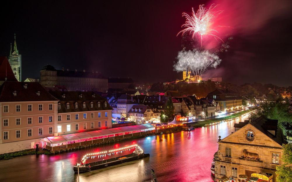 Sandkerwa Bamberg - Feuerwerk