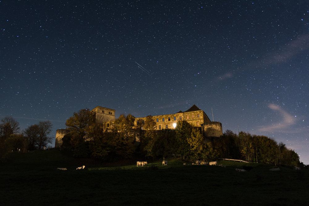 Giechburg bei Nacht - Starry Sky