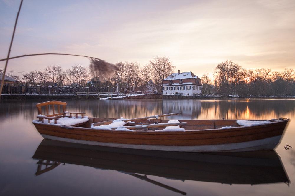 Romantisches Bamberg im Winter