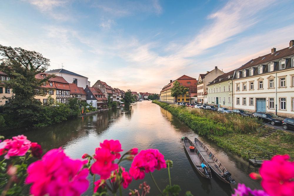 Klein Venedig Bamberg Sonnenaufgang