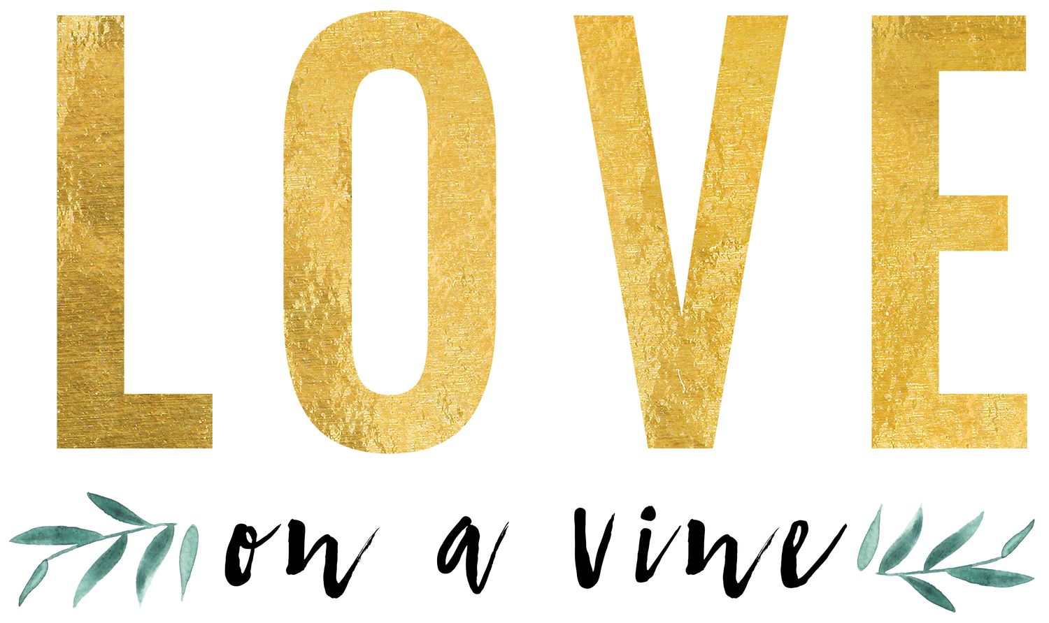 LOVE on a vine