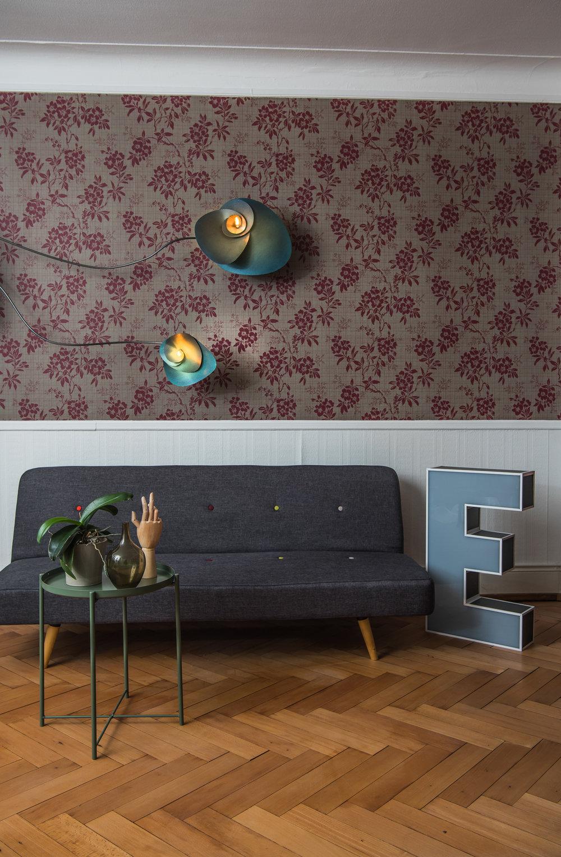 swiss designer lamp handmade