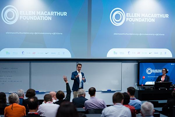 Casper Jorna, CE100 Lead, Ellen MacArthur Foundation