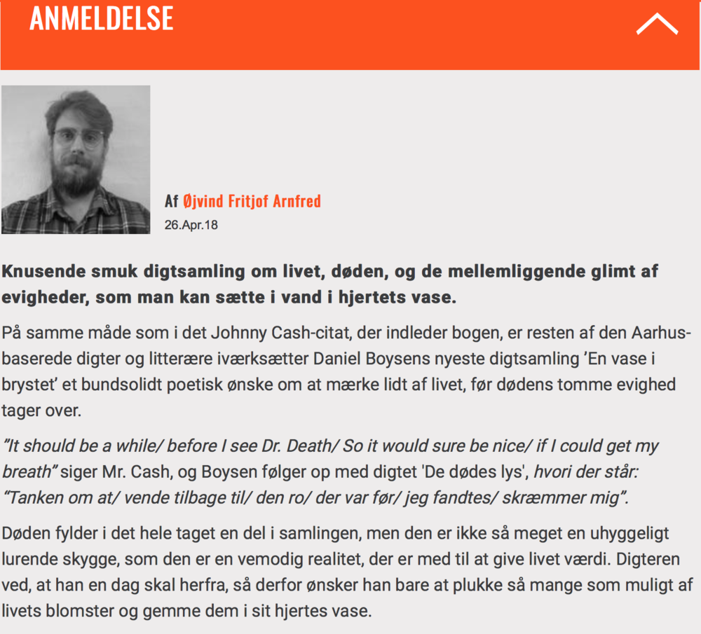 Litteratursiden Daniel Boysen Forlaget Silkefyret