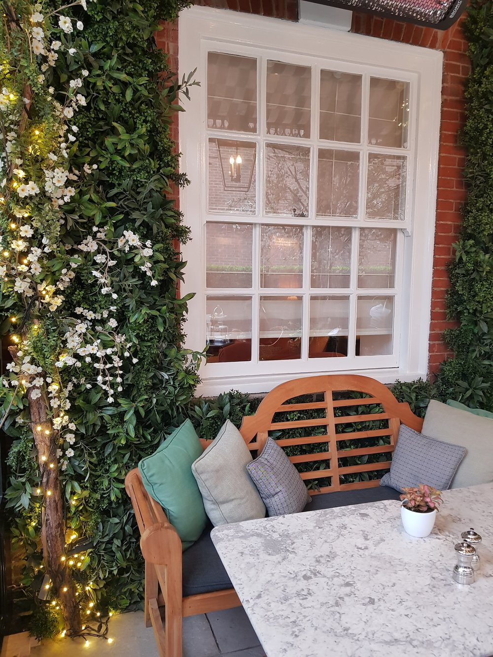 DALLOWAY TERRACE LONDON RESTAURANT REVIEW