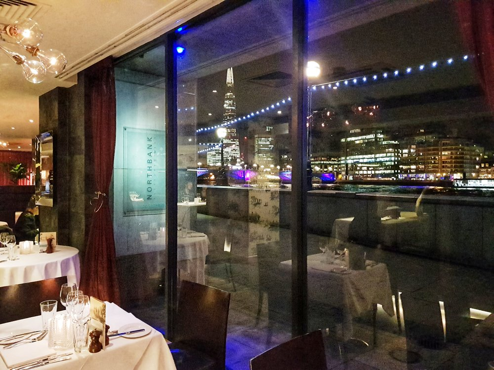 NORTHBANK RESTAURANT LONDON REVIEW