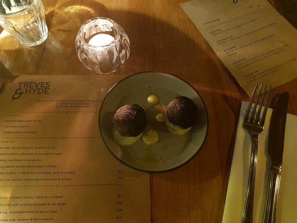 TREVES AND HYDE RESTAURANT REVIEW LONDON