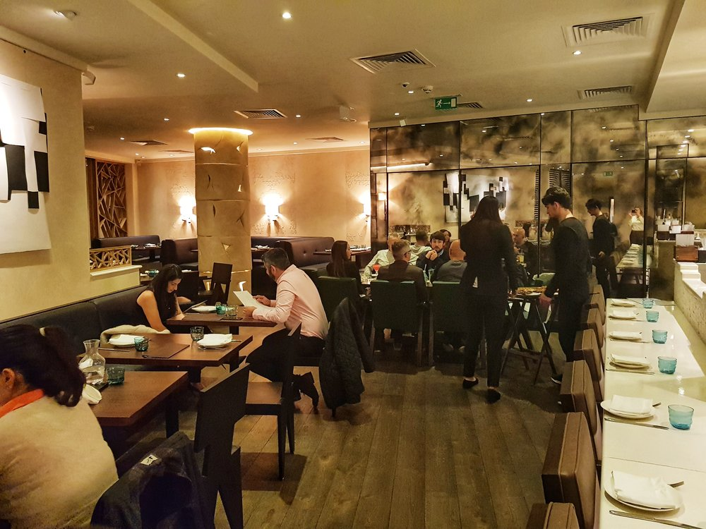 CANTINA LAREDO RESTAURANT REVIEW LONDON