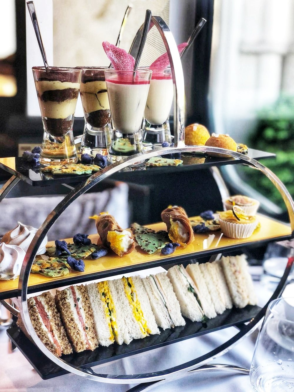 ACQUA DI PARMA AFTERNOON TEA AT BAGLIONI HOTEL REVIEW LONDON