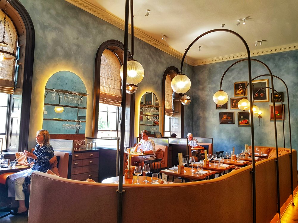 BRYN WILLIAMS RESTAURANT REVIEW SOMERSET HOUSE LONDON