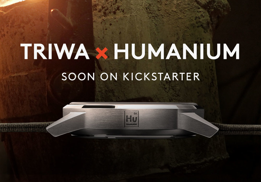 visit web - The TRIWA X HUMANIUM watch will be launched on May 30th on Kickstarter.