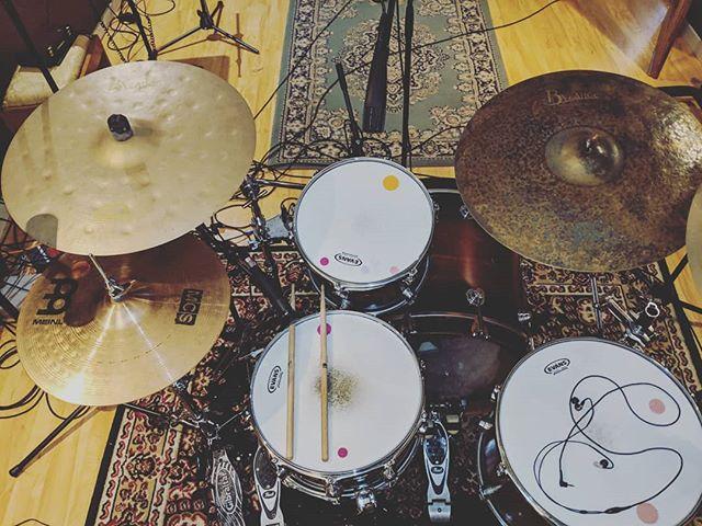 @thebeatcleaver rockpig setup!  #headatlas #huntinggroundstudios #torridfall #dwdrums