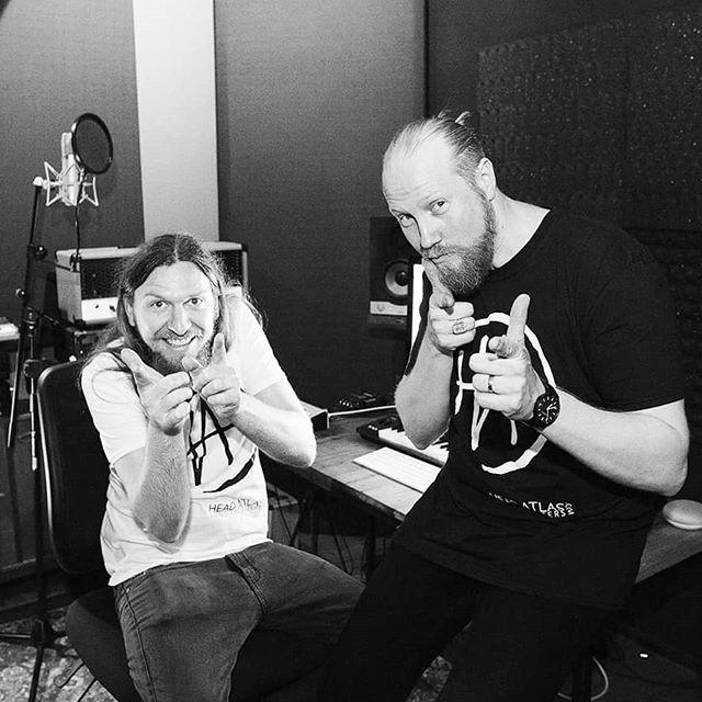 @chrispy_town  @joel_myles  #headatlas #producerteam #newmusic #2019