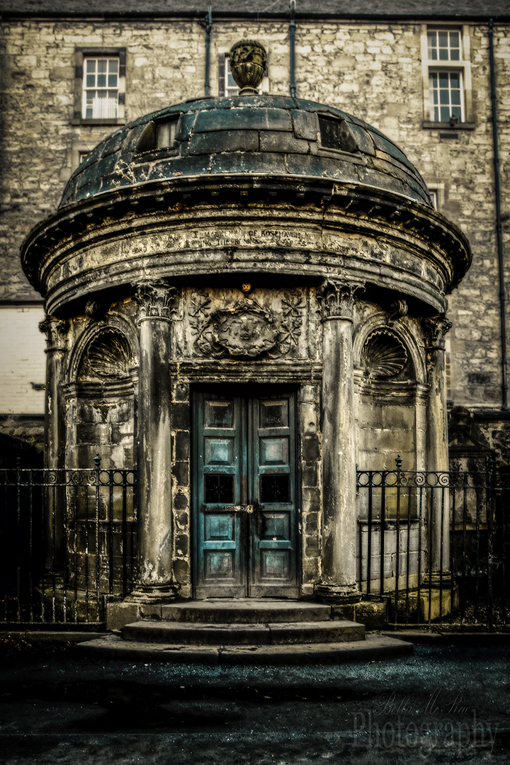 Edinburgh Walking Photography Tours Black Mausoleum Greyfriars