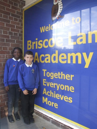 Meet our Head Girl and Head Boy who were chosen for continuously showing RESPECT. We know they will do an excellent job this year as representatives of our Academy!
