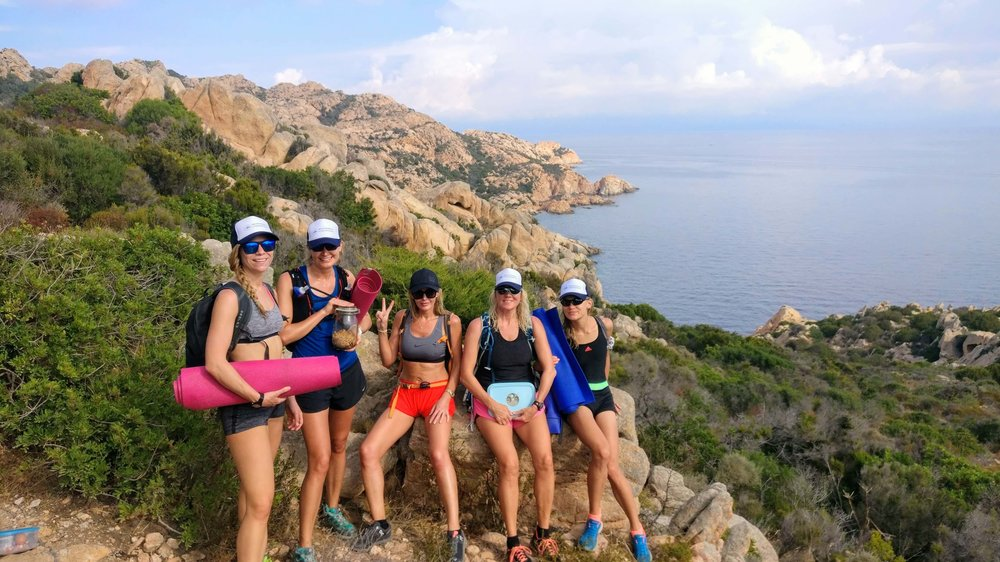 Hikes and yoga, Sardinia